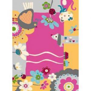 Detský koberec Agnella Funky Top IMI cyklamen,133x180cm