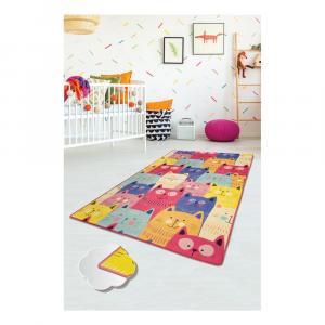 Detský koberec Cats, 140 × 190 cm