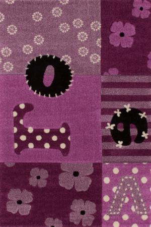Detský koberec Amigo 309 Violet (150 x 100 cm)