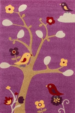 Detský koberec Amigo 311 Violet (190 x 133 cm)