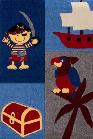 Detský koberec Amigo 313 Blue (150 x 100 cm)