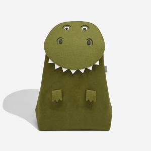 Dětský koš na prádlo Stackers T-Rex | Zelený