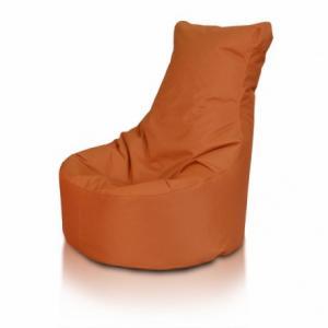 Ecopuf Detský MINI sedací vak ECOPUF - SEAT S - polyestér NC11 - Hnedá