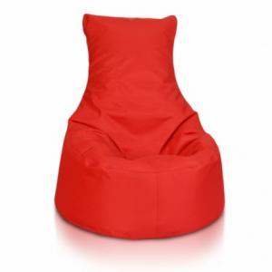 Detský MINI sedací vak ECOPUF - SEAT S - polyestér NC12 - Červená