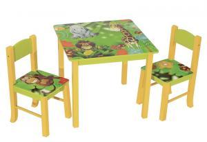 Detský set nábytku JUNGLE
