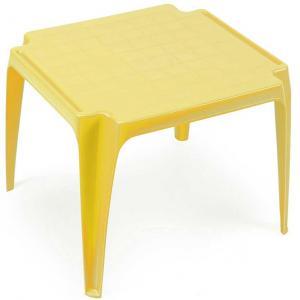 Detský stolik žltý