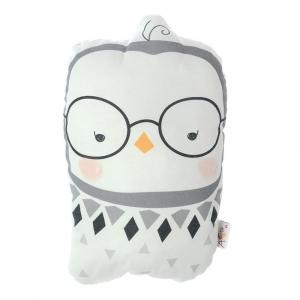 Detský vankúšik s prímesou bavlny Apolena Pillow Toy Argo Birdie, 17 x 27 cm