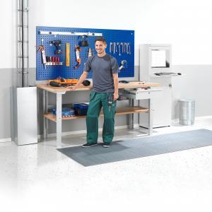 Dielenský stôl Robust, 2000x800 mm, vytvrdená doska, nosnosť 300 kg