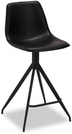 Dizajnová barová stolička Aeron, čierna