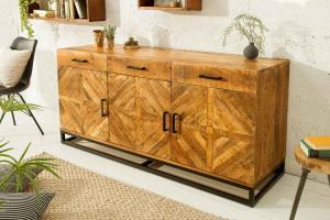 Dizajnová komoda Allen Home 160 cm, mango