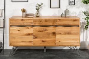 Dizajnová komoda Fringe, 160 cm, divý dub