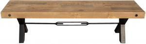 Dizajnová lavica Thunder 170 cm prírodná - borovica