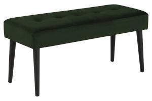 Dizajnová lavička Neola, lesno zelená