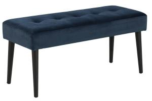 Dizajnová lavička Neola, navy modrá