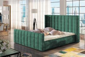 Dizajnová posteľ Nathanael 180 x 200 - 6 farebných prevedení