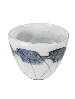 Dizajnová sklenená miska Baltic