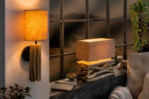 Dizajnová stolová lampa Sarai II