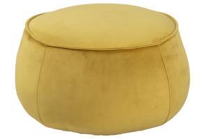Dizajnová taburetka Nara, žltá