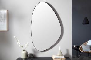 Dizajnové nástenné zrkadlo Daiwa 90 cm čierne