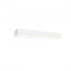 Dizajnové predĺžené nástenné svietidlo biele 60 cm - Houx