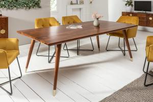 Dizajnový jedálenský stôl Justice 200 cm akácia