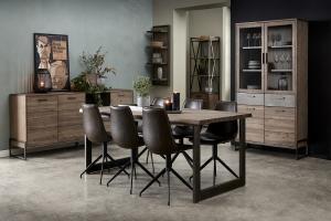 Dizajnový jedálenský stôl rozkladací Aart, 180 - 280 cm