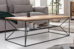 Dizajnový konferenčný stolík Haines 110 cm dub