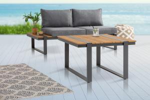 Dizajnový záhradný odkladací stolík Gazelle 78 cm Polywood