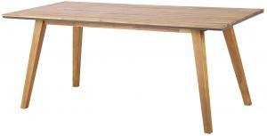 Dizajnový záhradný stôl Gavino 180 cm akácia