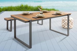 Dizajnový záhradný stôl Gazelle 180 cm Polywood