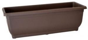 DK plast Samozavlažovací hrantík AQUA GLORIA 50 cm, hnedá