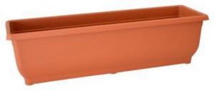 DK plast Samozavlažovací hrantík AQUA GLORIA 50 cm, terakota