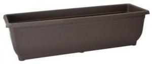 DK plast Samozavlažovací hrantík AQUA GLORIA 60 cm, hnedá