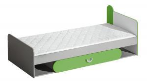 DL Detská posteľ FOMA F13 Farba: Zelená