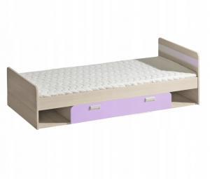 DL Detská posteľ LUCAS L13 Farba: Fialová