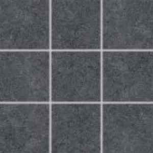 Dlaždica 10x10 Rako Rock DAK12635 čierna