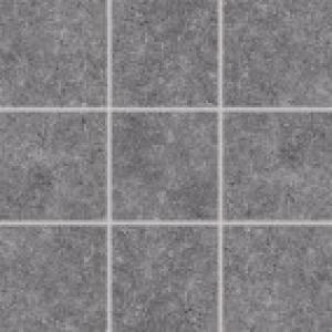 Dlaždica 10x10 Rako Rock DAK12636 tmavošedá