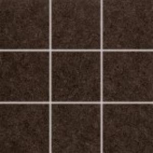 Dlaždica 10x10 Rako Rock DAK12637 hnedá