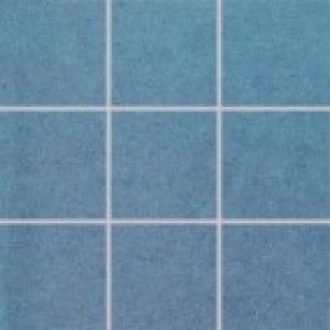 Dlaždica 10x10 Rako Rock DAK12646 modrá