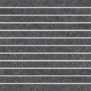 Dlaždica-dekor 30x30 Rako Rock DDP34635 set čierna