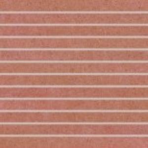 Dlaždica-dekor 30x30 Rako Rock DDP34645 set červená