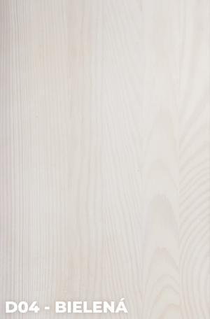DOK Regál z masívu Modern 60 Povrchová úprava:: D04 - Bielená