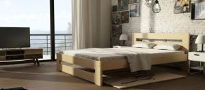 DOLMAR Manželská posteľ MARIKA ROZMER: 120 x 200 cm