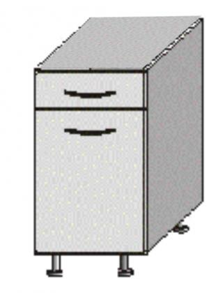 Dolná kuchynská skrinka Igo New D-40 S1
