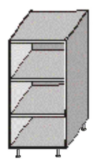 Dolná kuchynská skrinka Igo New DO-20