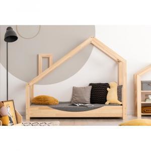 Domčeková posteľ z borovicového dreva Adeko Luna Elma,90x180cm
