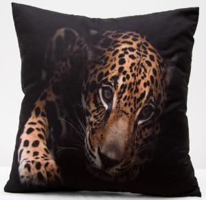 DomTextilu 3D obliečky na vankúše leopard 40x40 cm 4569-124212
