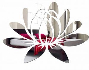 DomTextilu Asymetrické dekoratívne zrkadlo do interiéru 8421