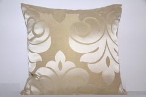 DomTextilu Béžové dekoračné obliečky na vankúš 40 x 40 cm 8744-124521