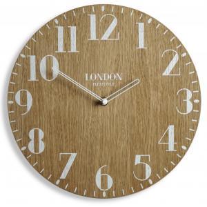 DomTextilu Dekoračné hodiny v retro štýle LONDYN RETRO WOOD 30cm 16608